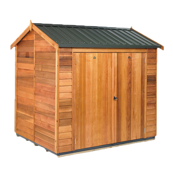 Astor Coloursteel Roof Kitset Garden Timber Shed 2.4 x 1.9 x 2.33 m Natural CAC