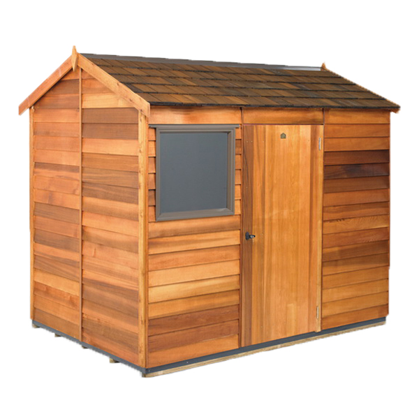 Logan Coloursteel Roof Kitset Garden Timber Shed 2.7 x 1.9 x 2.33 m Natural CLC