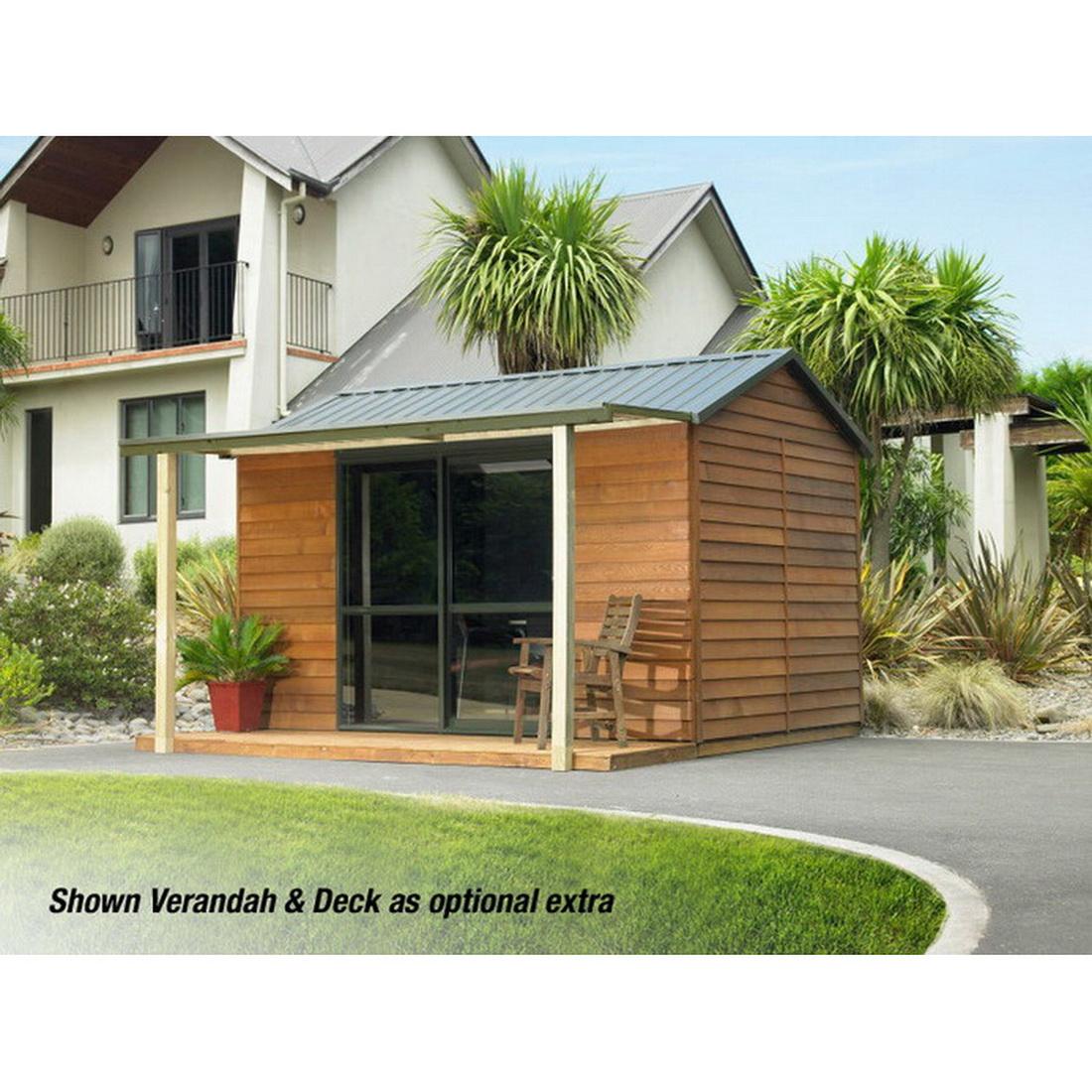 Urban Cabin Kitset Garden Timber Shed 3.6 x 2.5m
