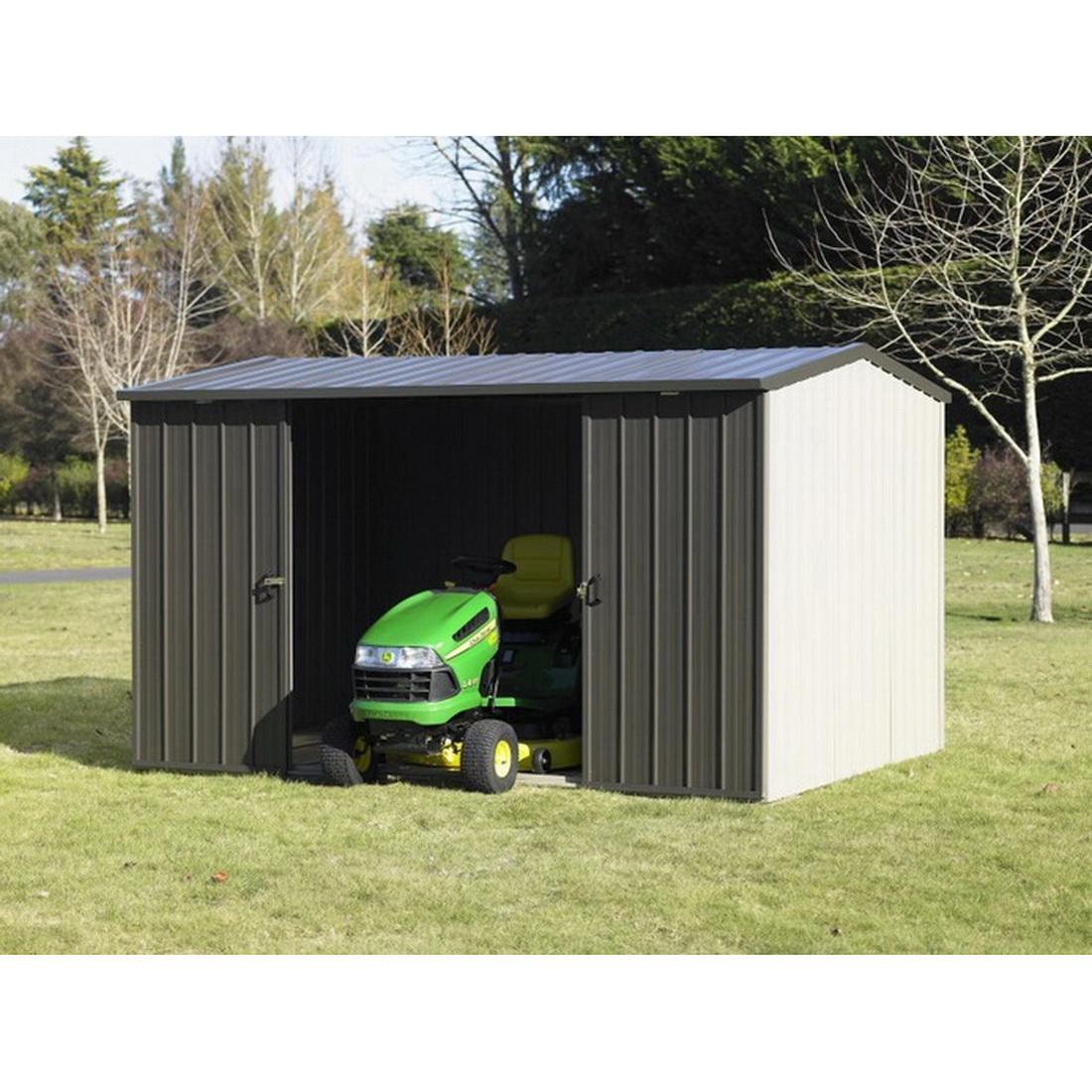 Kiwi Colour Kitset Garden Shed 3.38 x 2.545 x 2.11m