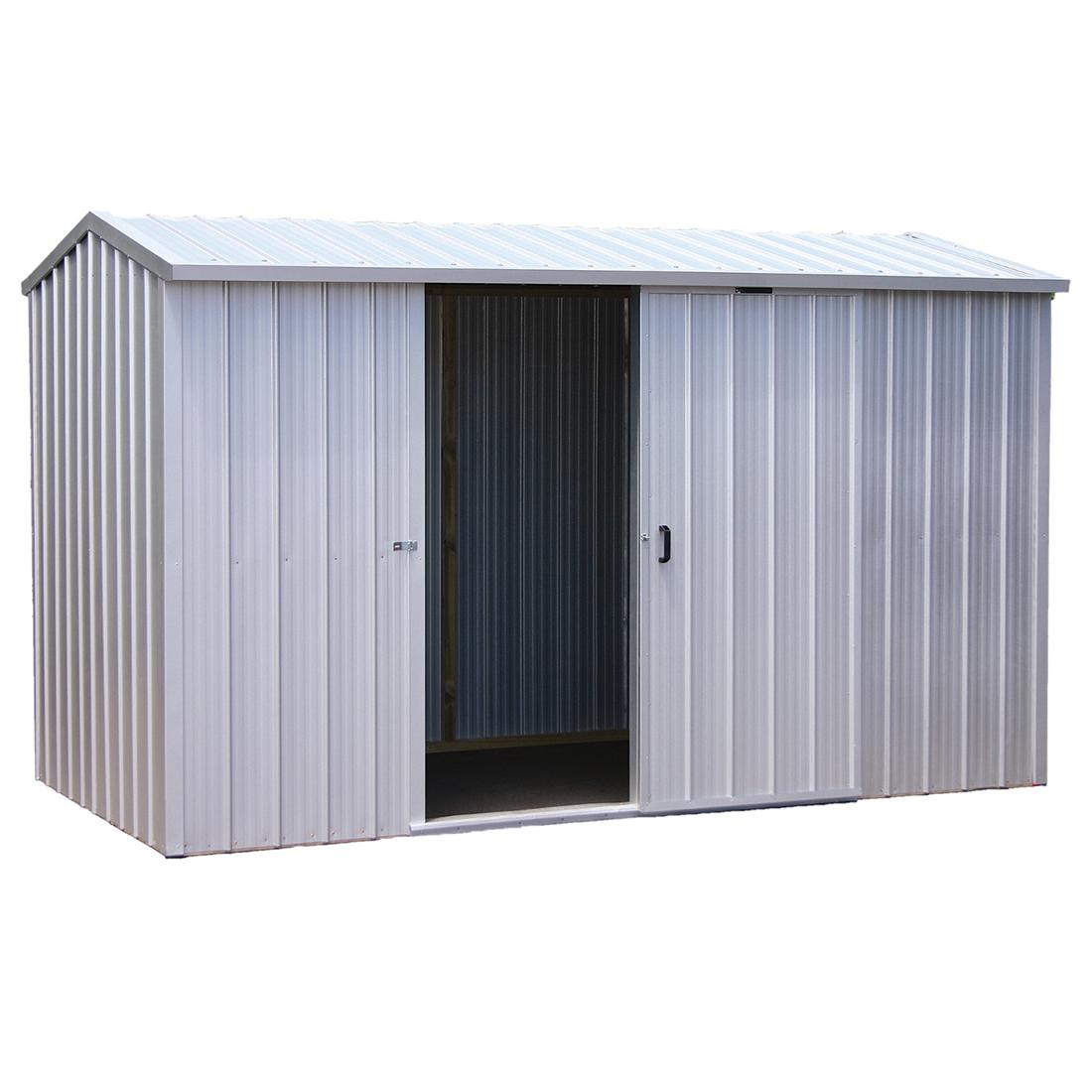 Kiwi Zinc Kitset Garden Shed 3.38 x 1.715 x 2.11m