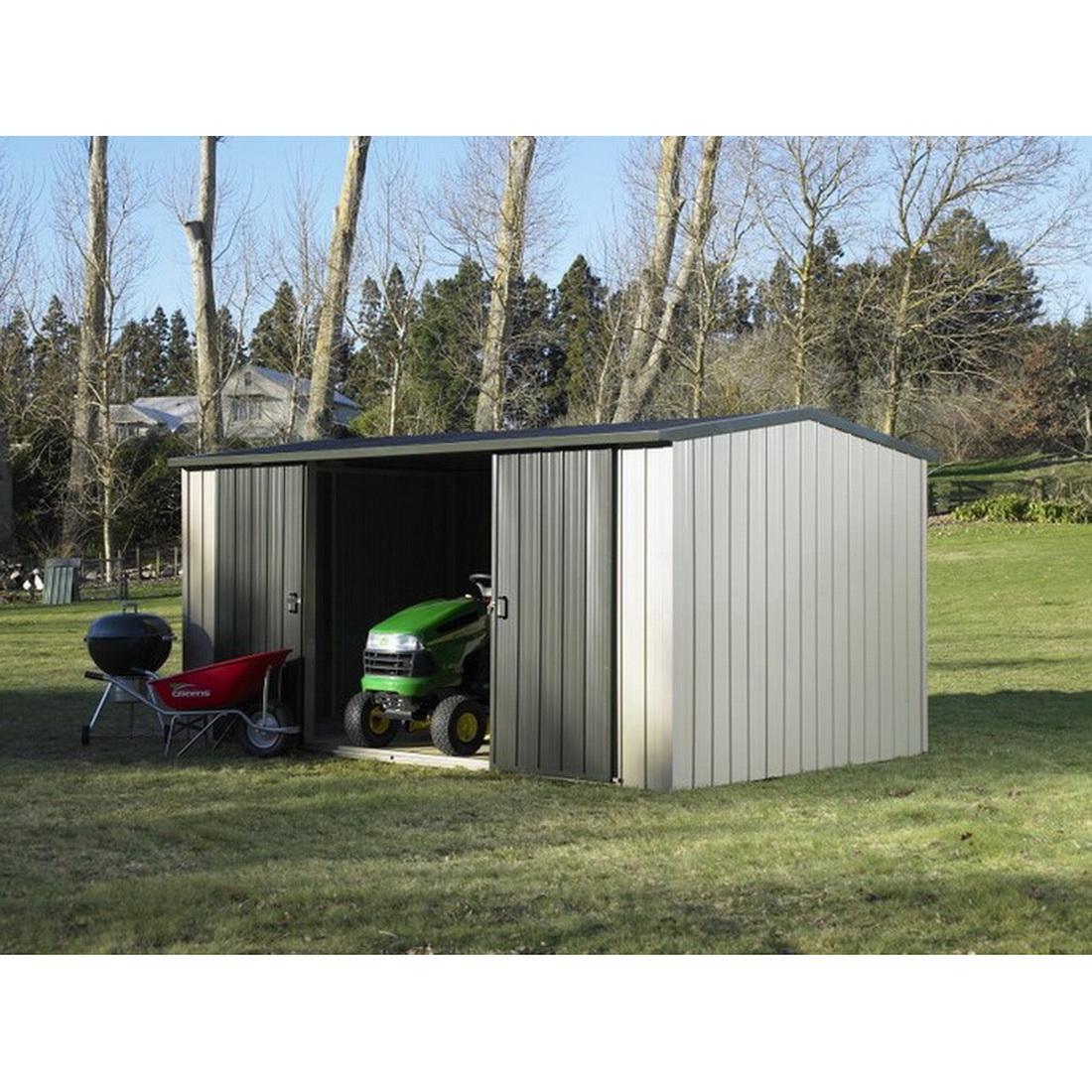 Kiwi Colour Kitset Garden Shed 4.21 x 2.545 x 2.11m
