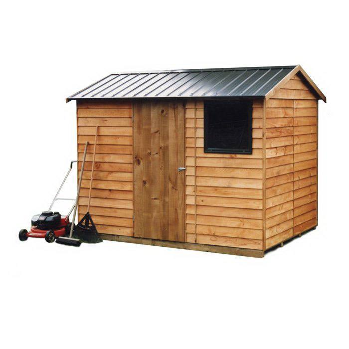 Craigieburn 2.7 x 1.9 x 1.8-2.2m Gable Roof Garden Shed