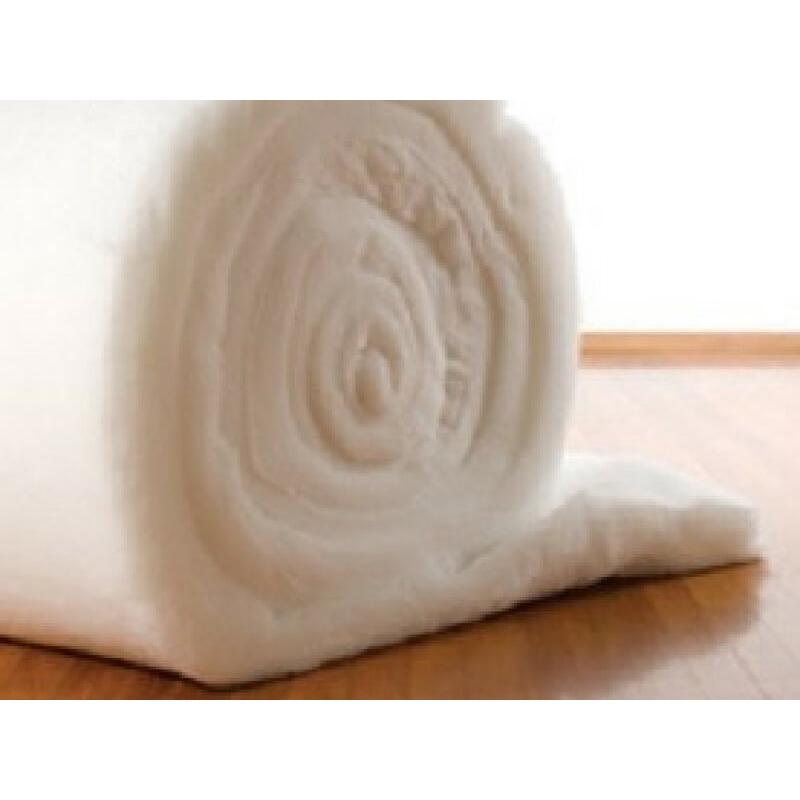R1.5 510x9804x100mm 20sq-m Polyester Underfloor Insulation Blanket