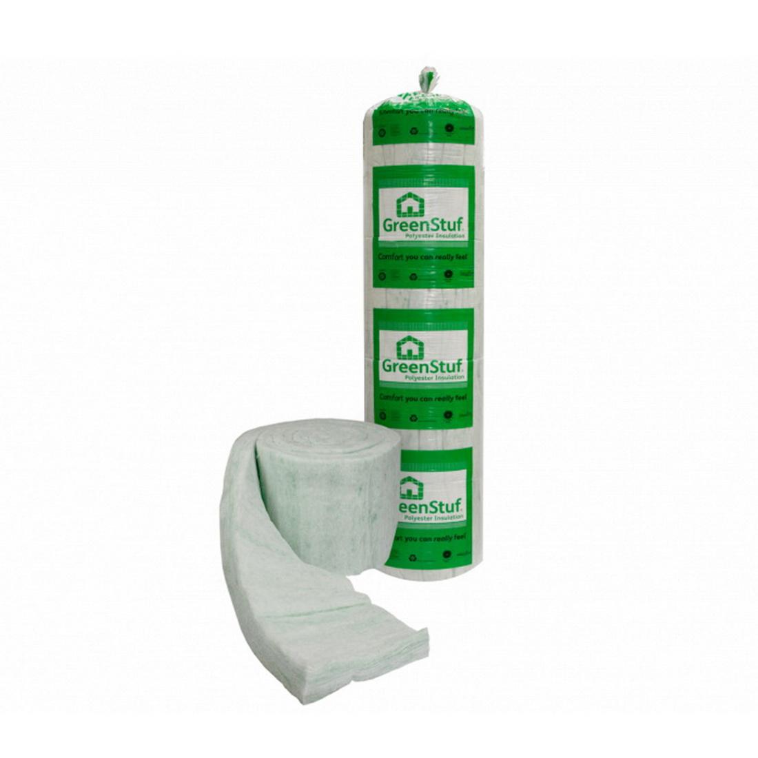 GreenStuf Thermal Roll Form 100 mm R1.8 25 sq-m Polyster PTL1887