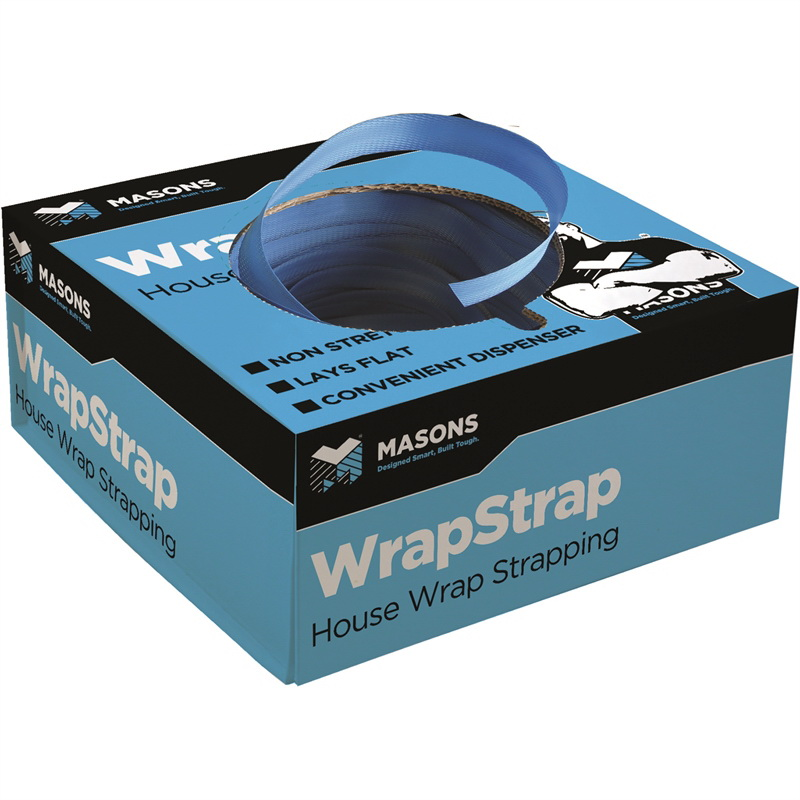 WrapStrap Blue 19mm x 300m