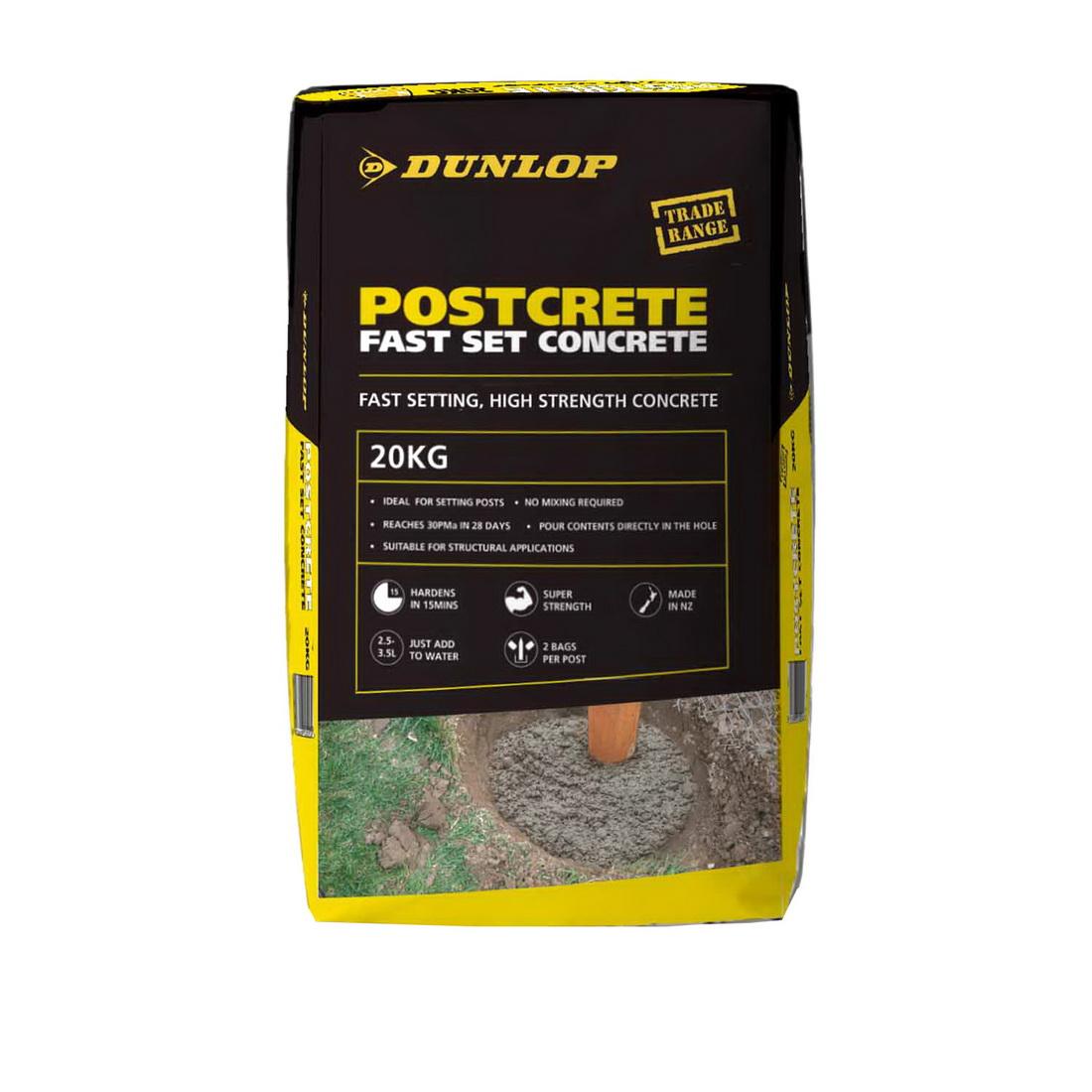 Postcrete 20kg Fast Set Concrete