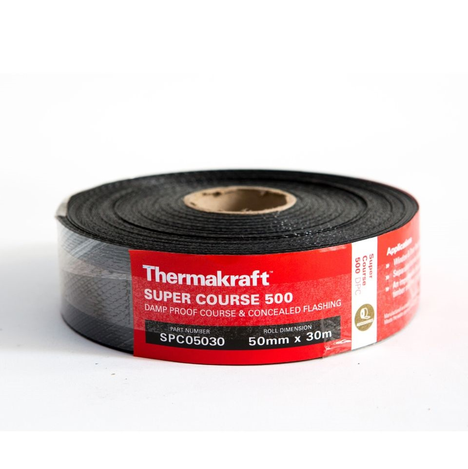 Supercourse 500 Damp Proof Course 50mm x 30m