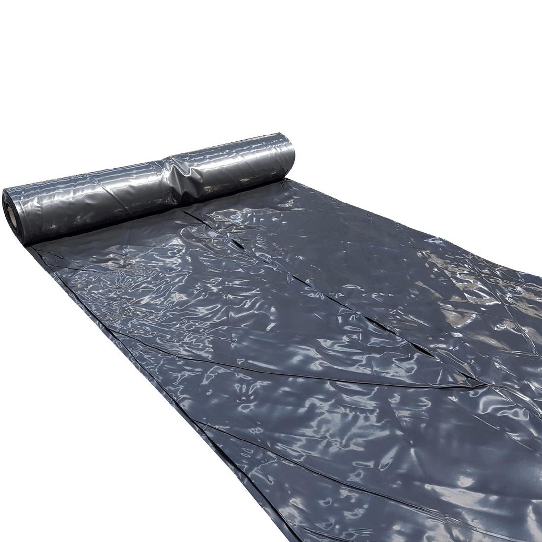 4 x 50m 125 Micron Black Polythene