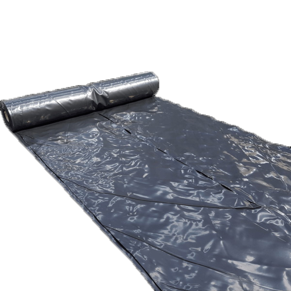Agpac Heavy Duty Building Wrap 25 x 4 m x 250 micron Black Polythene BP425025