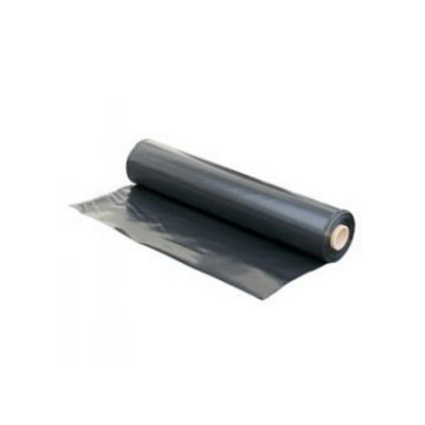 Polythene Black 4 x 50m 250mu