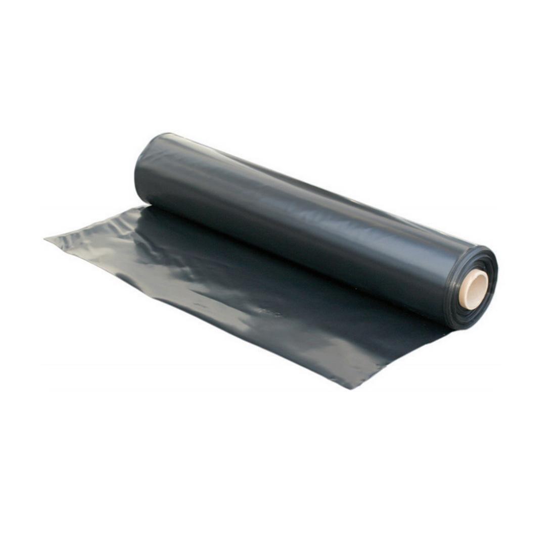 Polythene Black 4 x 25m 250mu