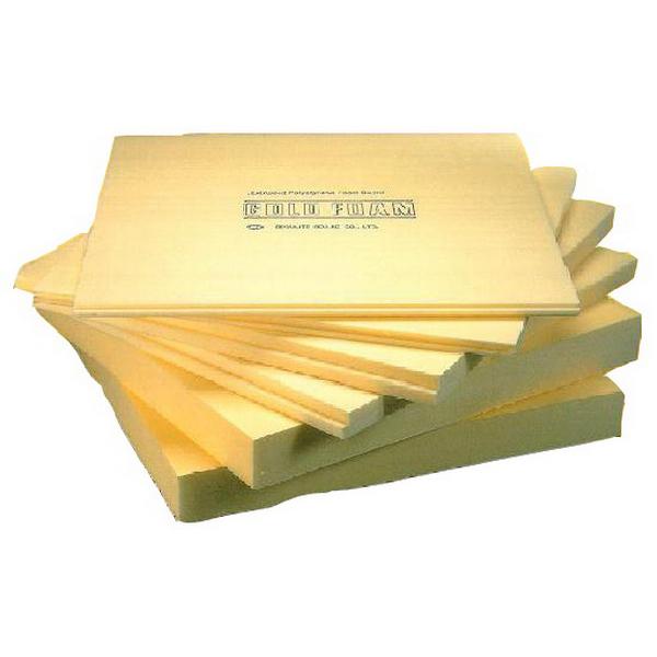 Composite Insulation Goldfoam T & G Insulation Board 2400 x 900 x 40 mm Polystyrene 1132
