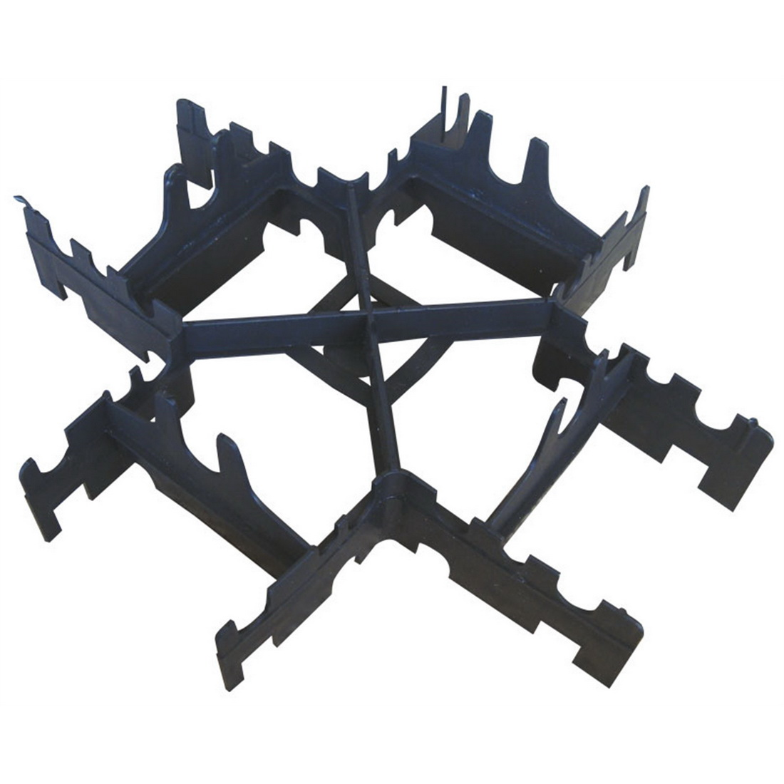 Expol Center Spacer 100 x 80 x 300mm Plastic Black SPACER100