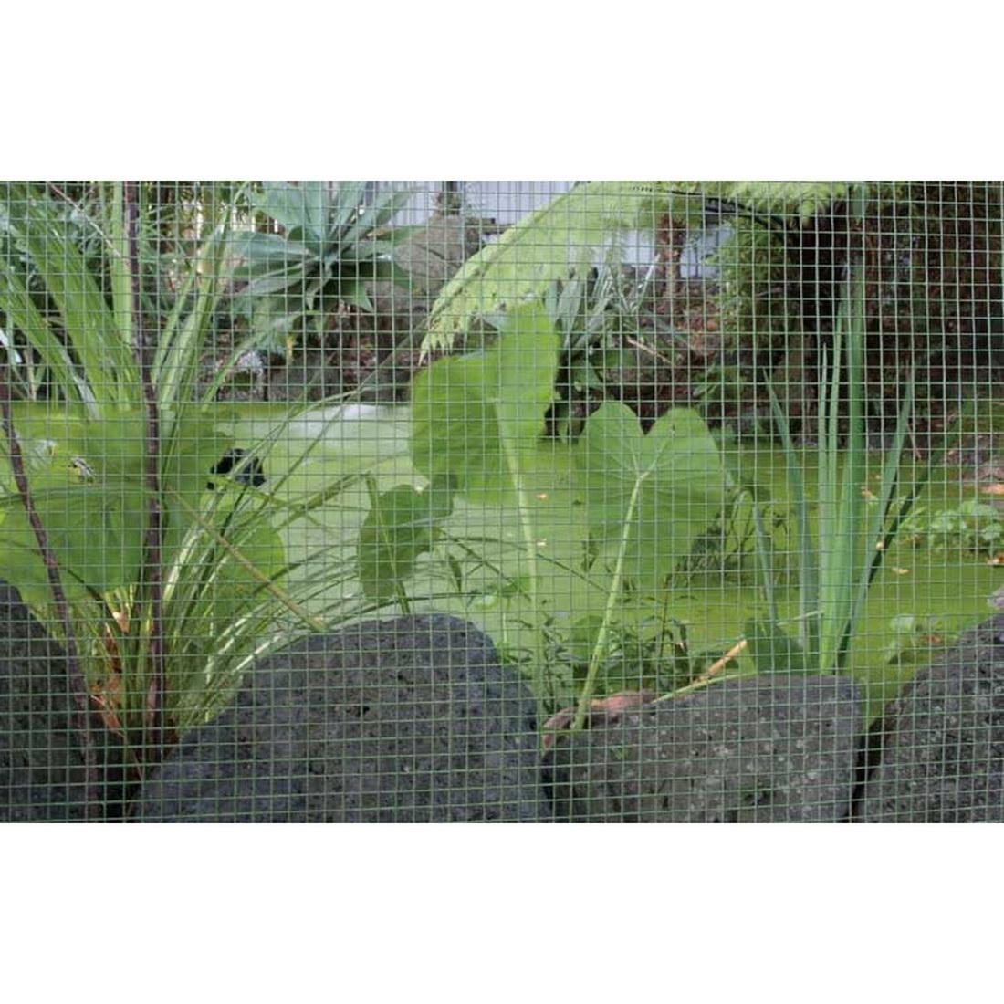 Cyclone Green PVC Square Welded Mesh 900 x 25 x 0.7mm 5m 8571091
