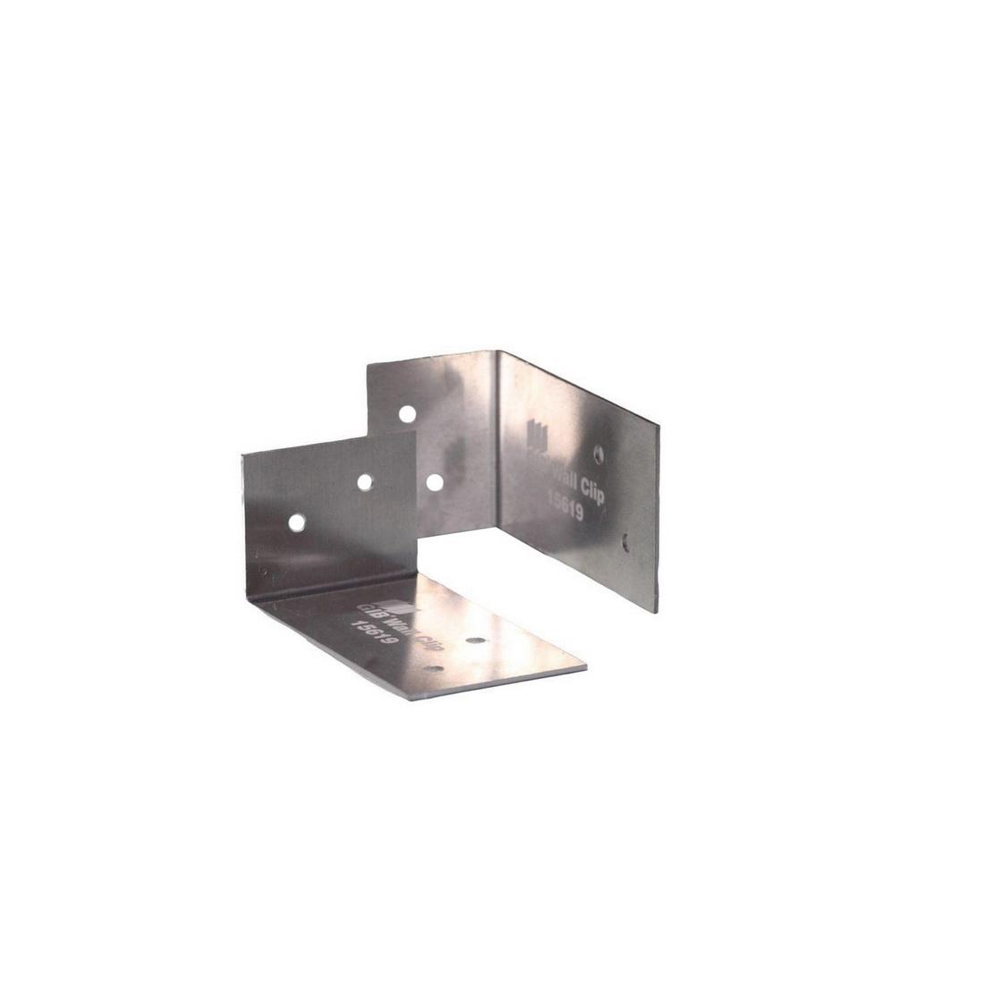90x40x50mm Wall Clip Aluminium Barrierline