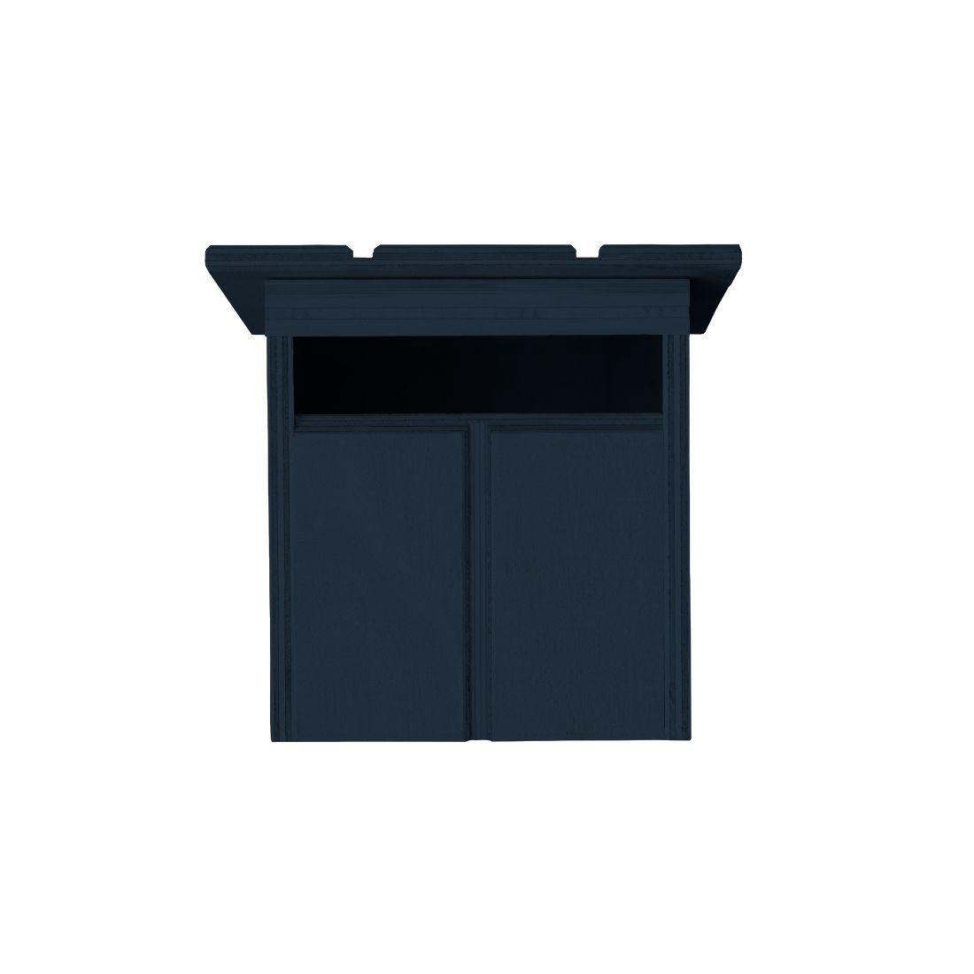 Cabin Letterbox Midnight Blue