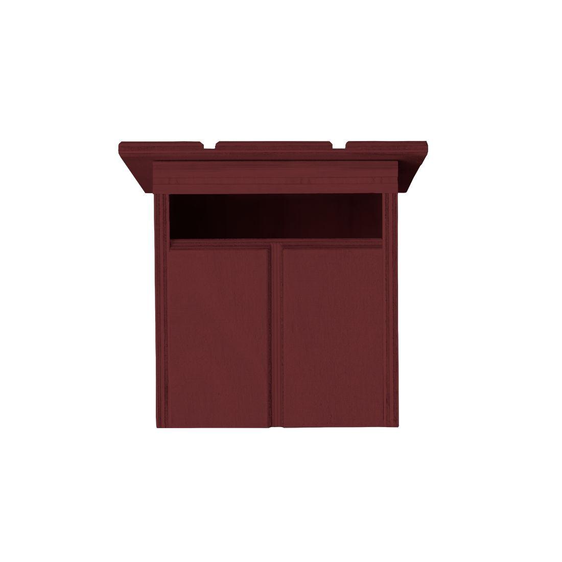 Cabin Letterbox Redwood