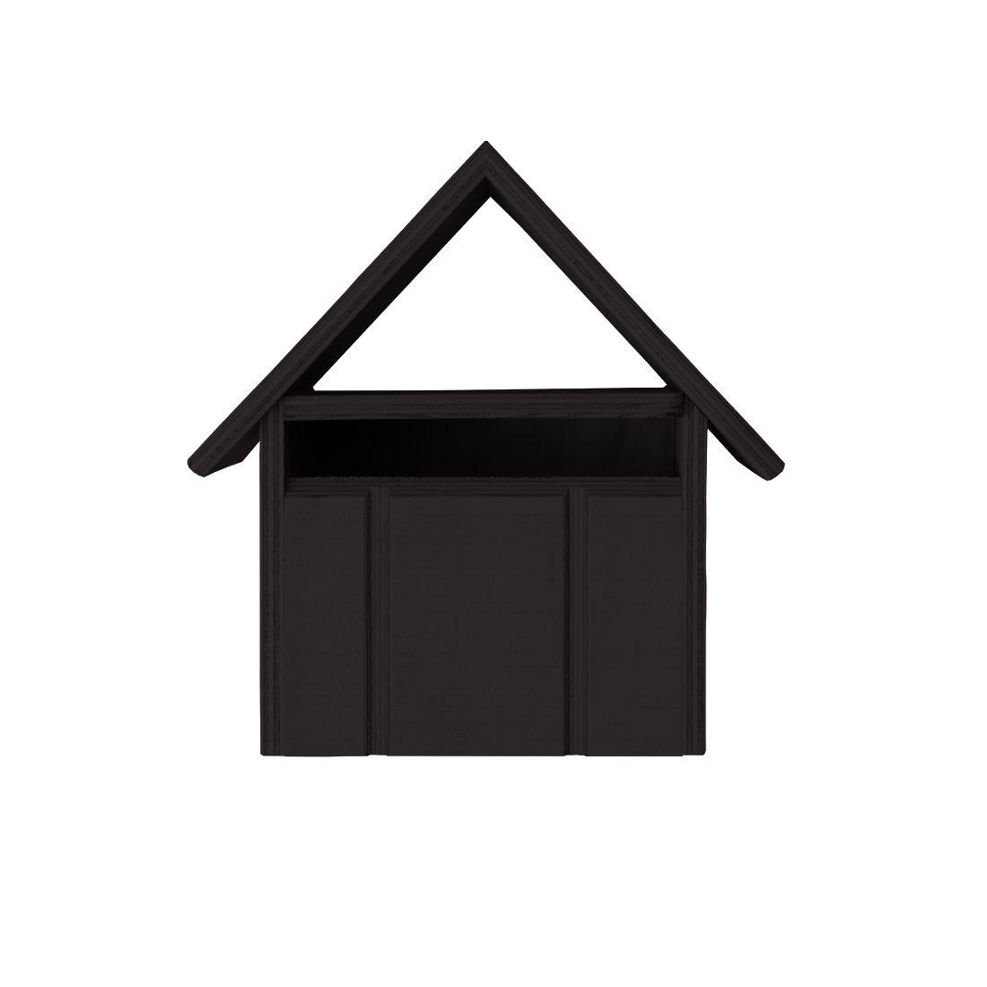 Villa Letterbox Dark Brown