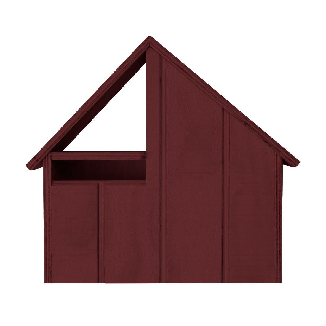 Chateau Letterbox Redwood