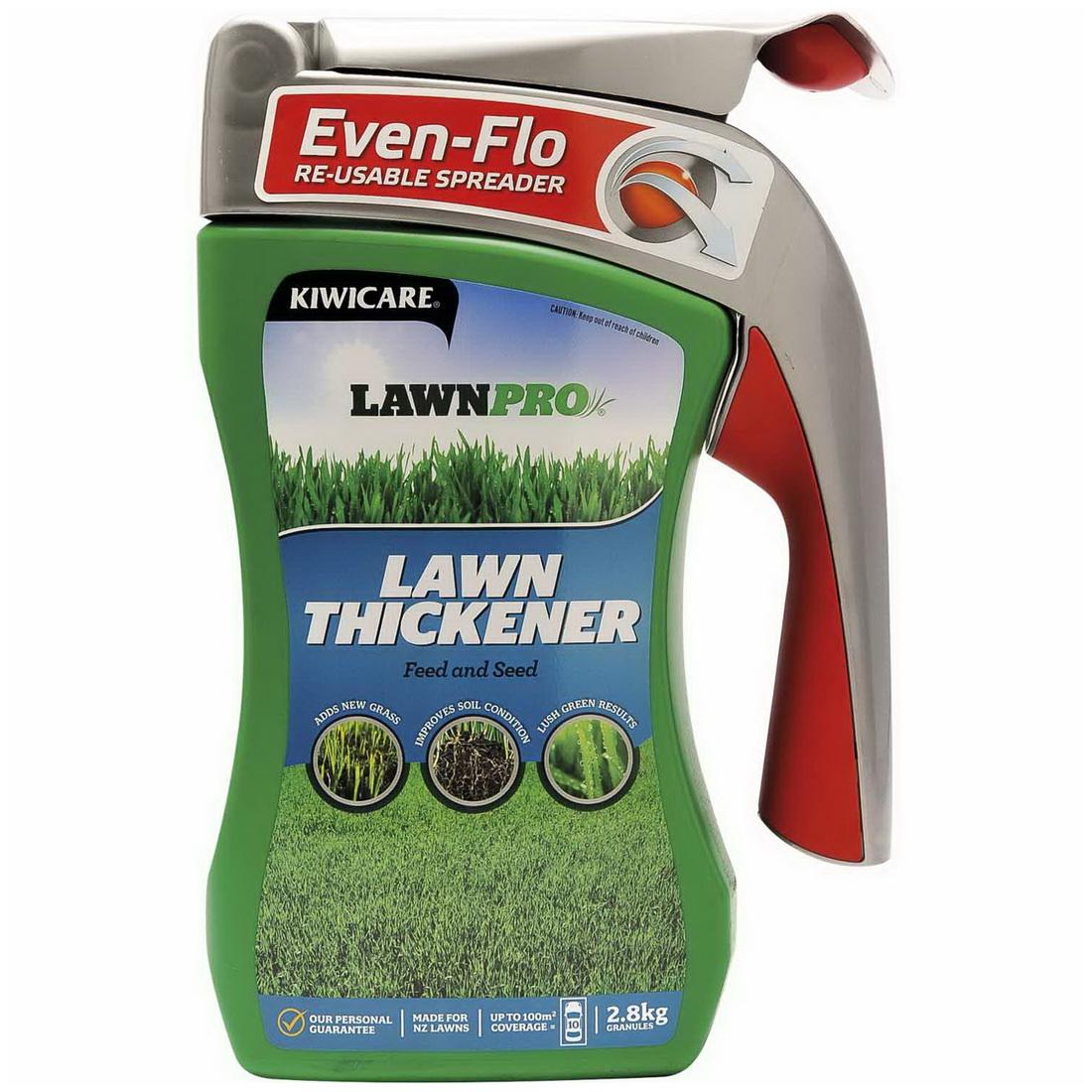 LawnPro Lawn Thickener Lawn Fertilizer/Seeds Spreader 2.8 kg G42015