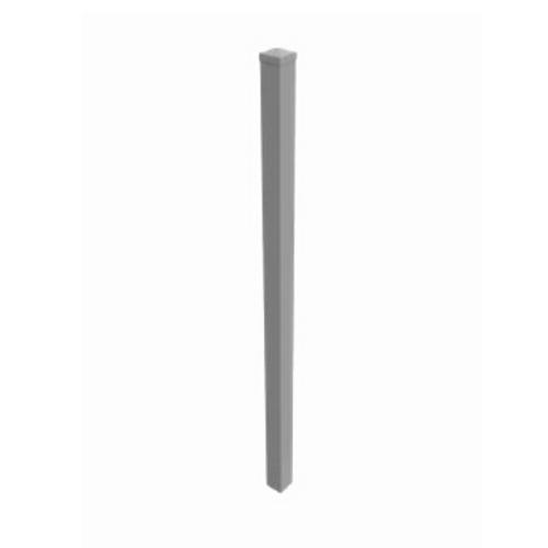 In-Ground Post 50 x 50 x 2100mm Aluminum Black FAP5021