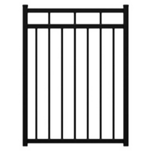 Mansion 1500H Pedestrian Gate 1500 x 950mm Powder Coat Aluminum FAMSG1595