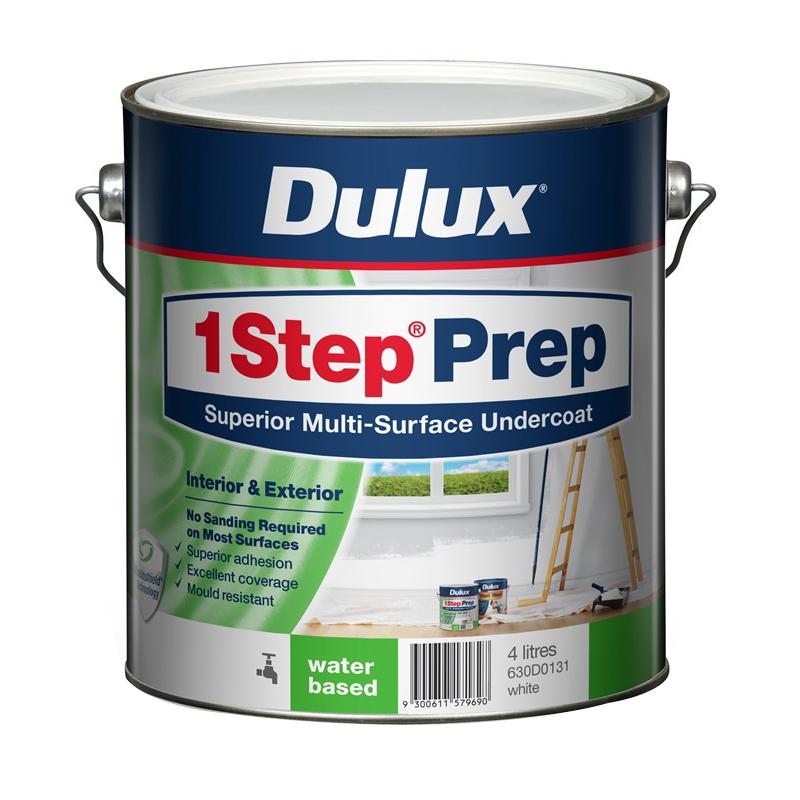 1 Step Water Based Primer Sealer Undercoat 4L