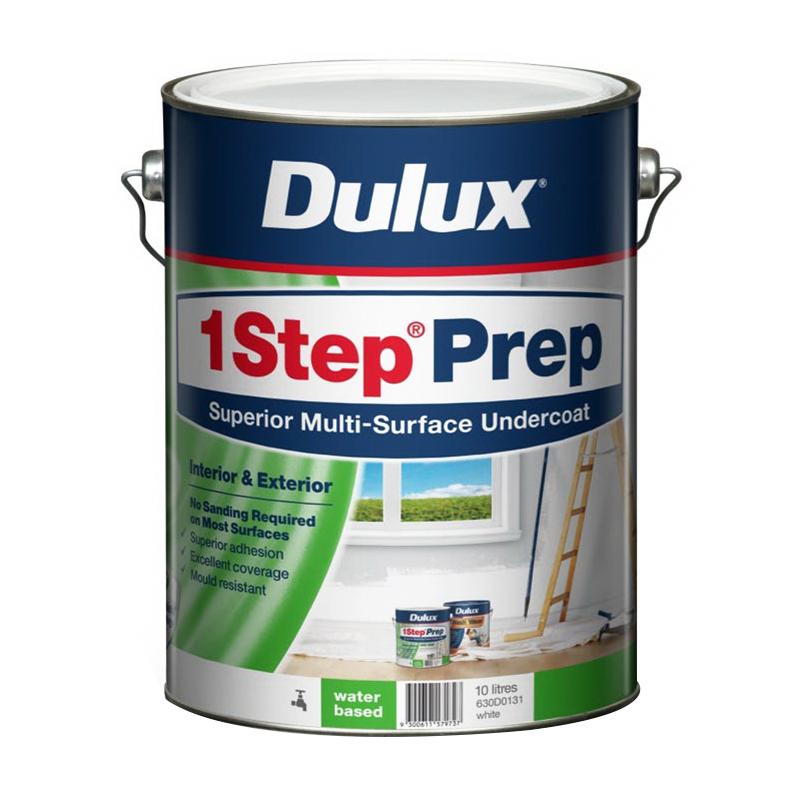 1 Step Water Based Primer Sealer Undercoat 10L
