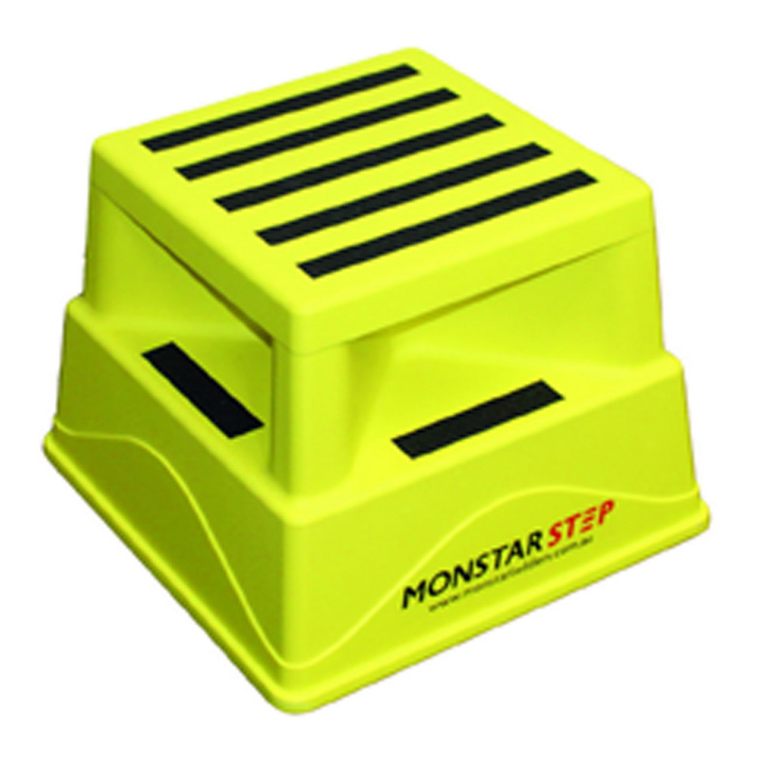 Step  Safety Step 180kg Plastic Hi Vis Yellow MONSTEP