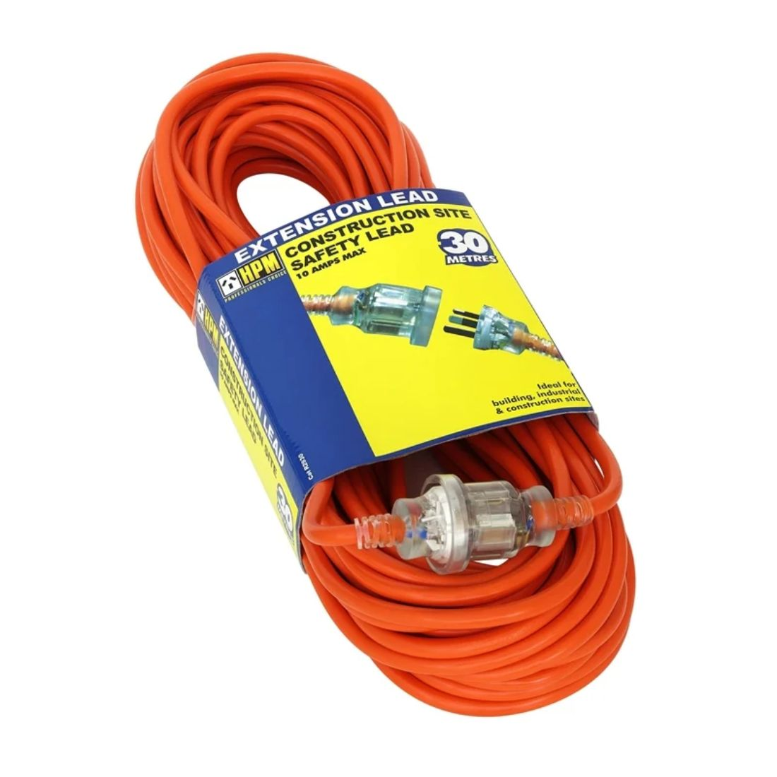 HPM 30m 10Ah Heavy Duty Extension Lead