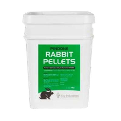 10kg Rabbit Pest Control Agtech Pellets Green