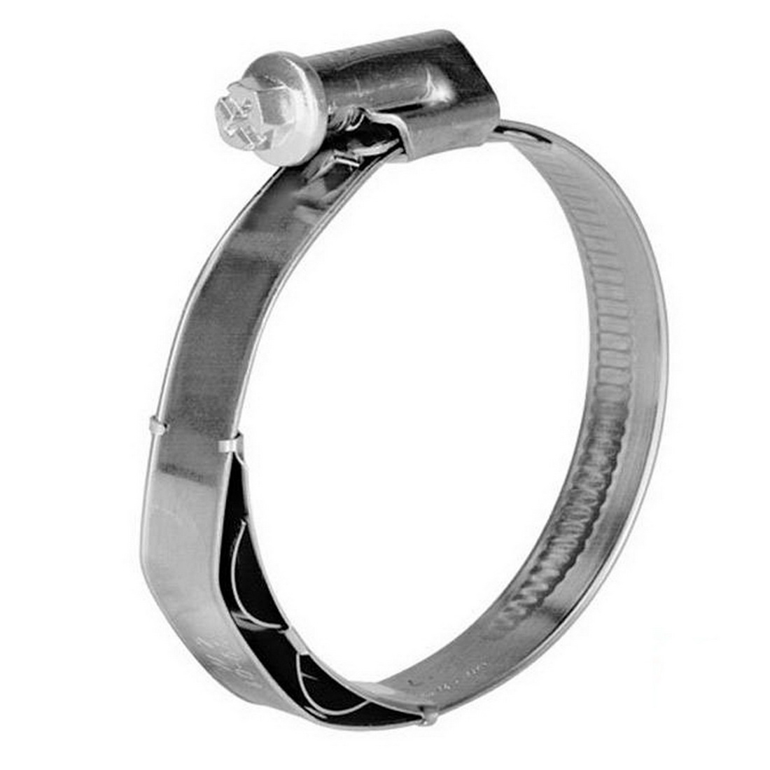 TORRO Worm Drive Hose Clamp 60-80mm 12mm Band W3 430 Stainless Steel P1 WDHC608012W3