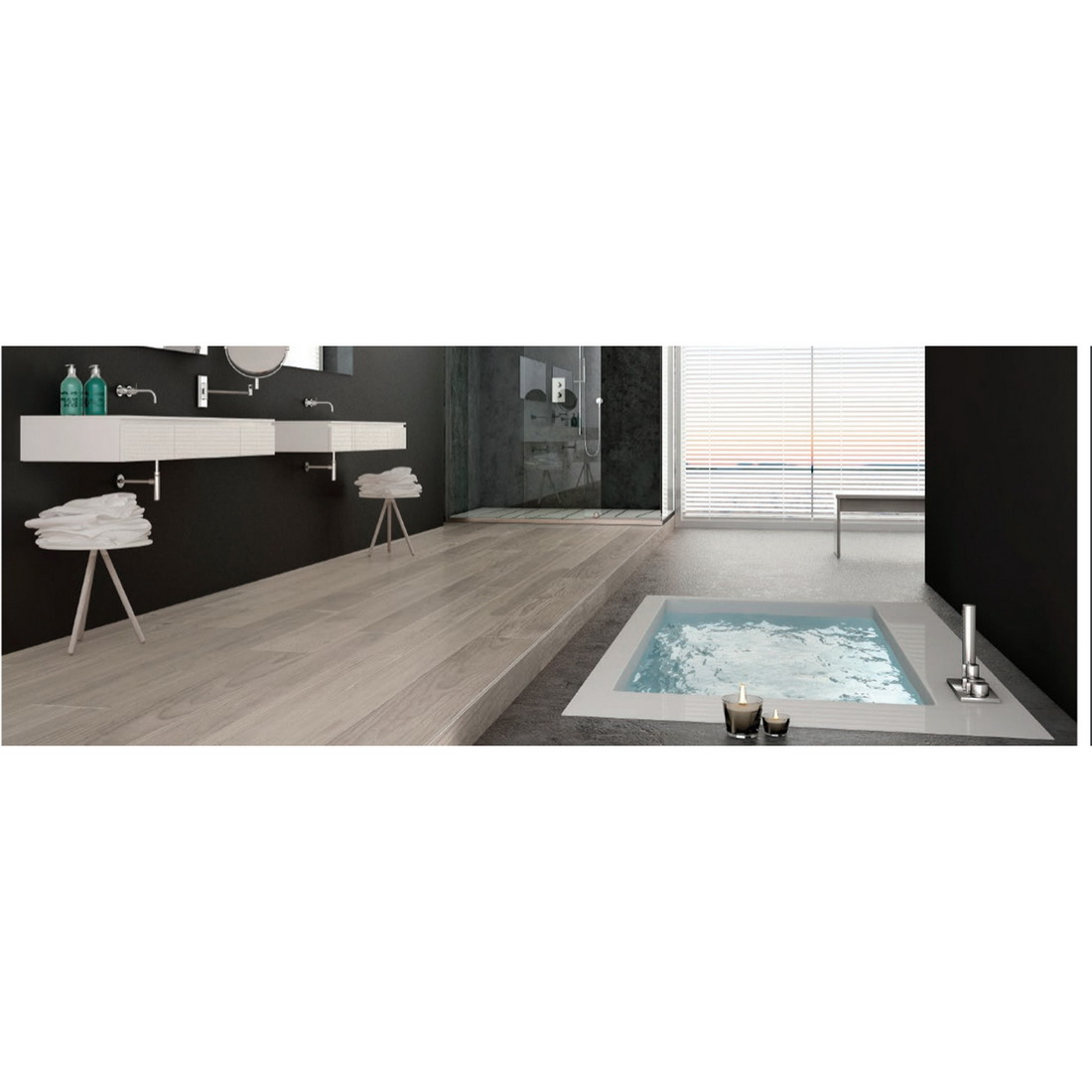 Strata Residential 1210 x 190mm x 5.5M Waterproof Flooring Plank Mighty Oak Frost