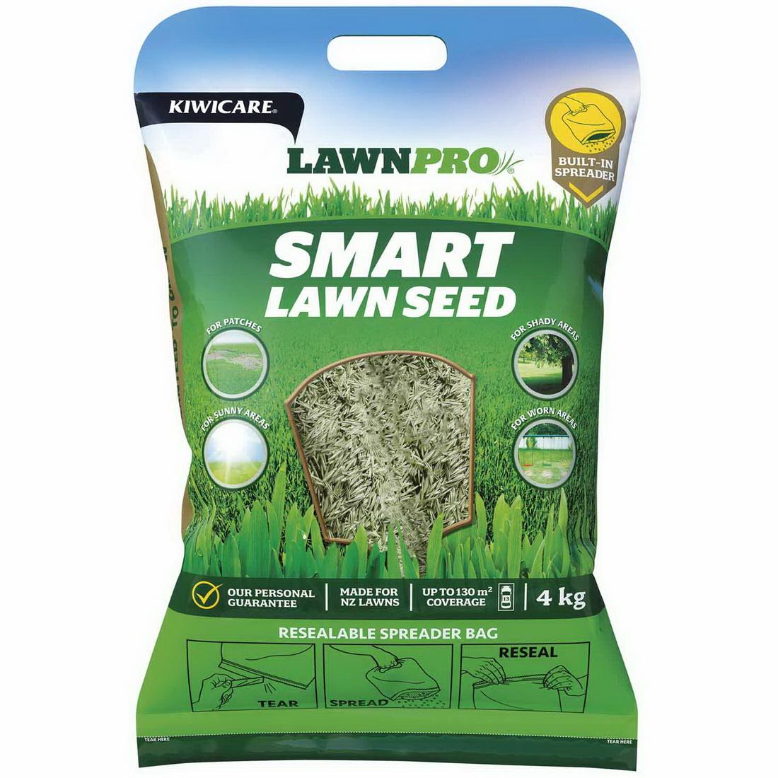 LawnPro Smart Seed 4kg Grey G42110