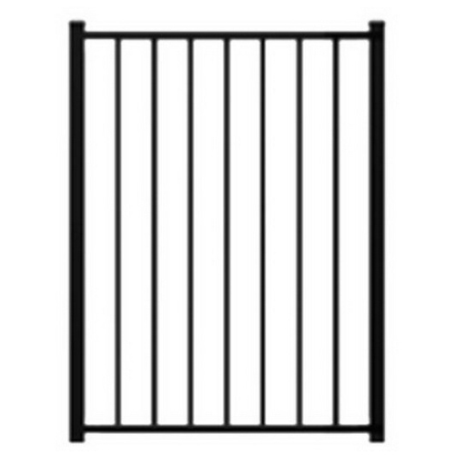 Lodge 900H Landscape Gate 900 x 950mm Powder Coat Aluminum FALLG0995