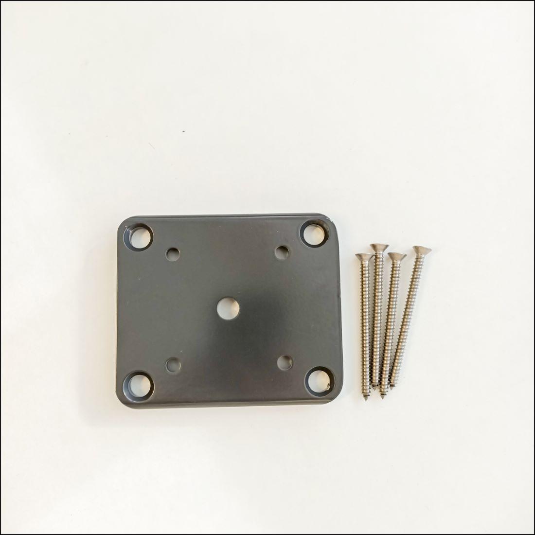 65 x 65mm Base Plate Set Grey