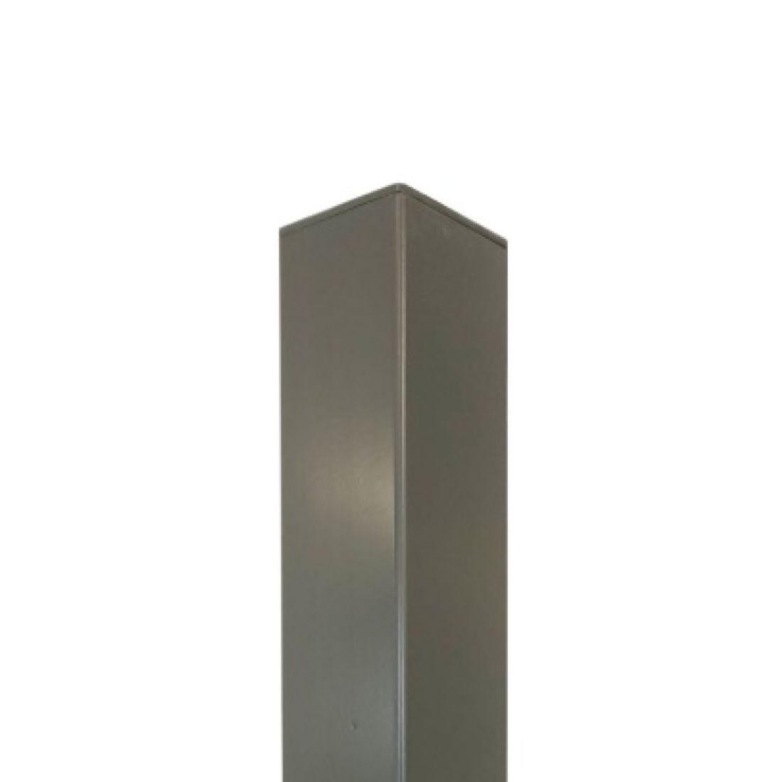 Standard Aluminium Post Grey 2400 x 50 x 50mm ELI-POST-GRY-245050
