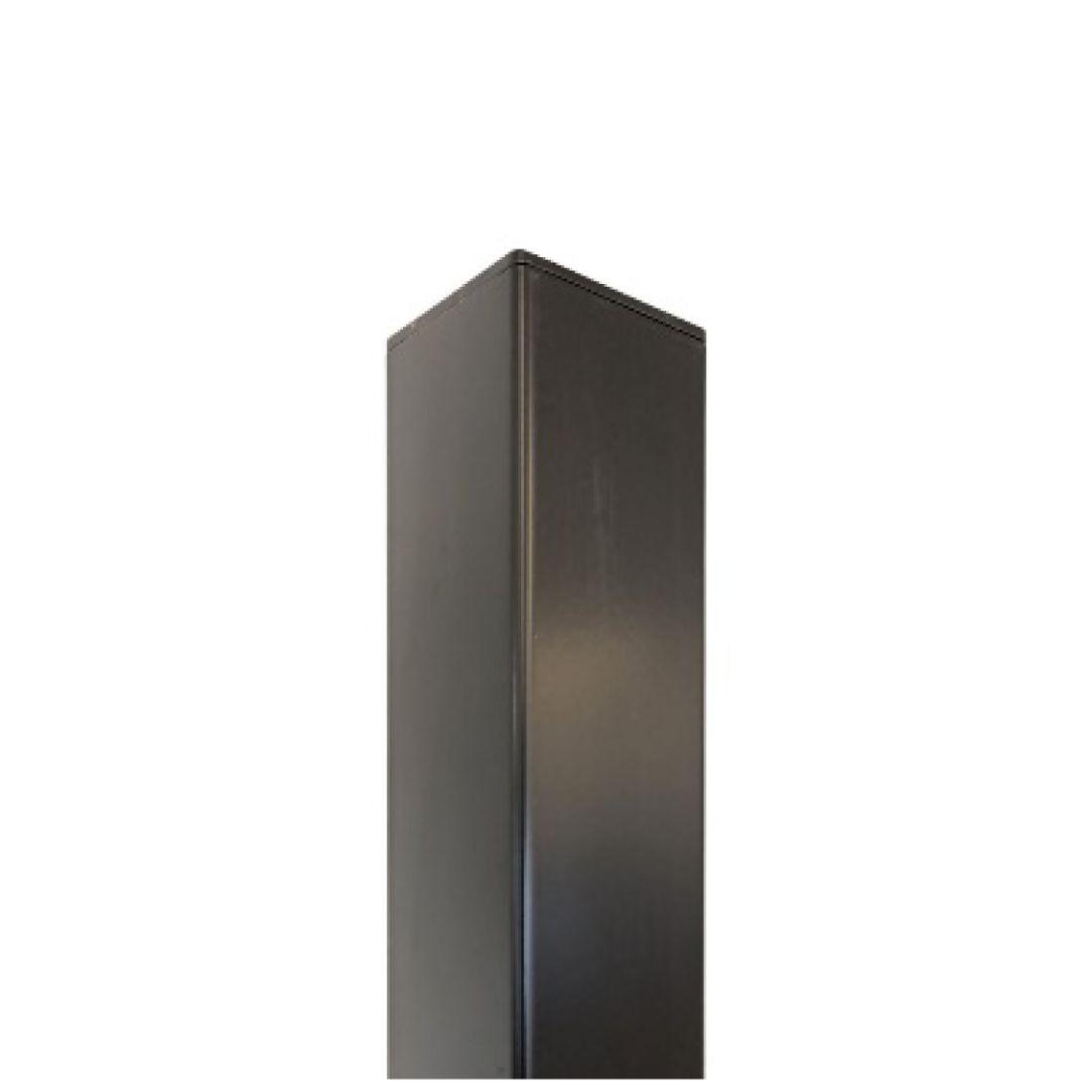 R Range Standard Aluminium Post Charcoal 2400 x 50 x 50mm ELI-POST-CHC-245050