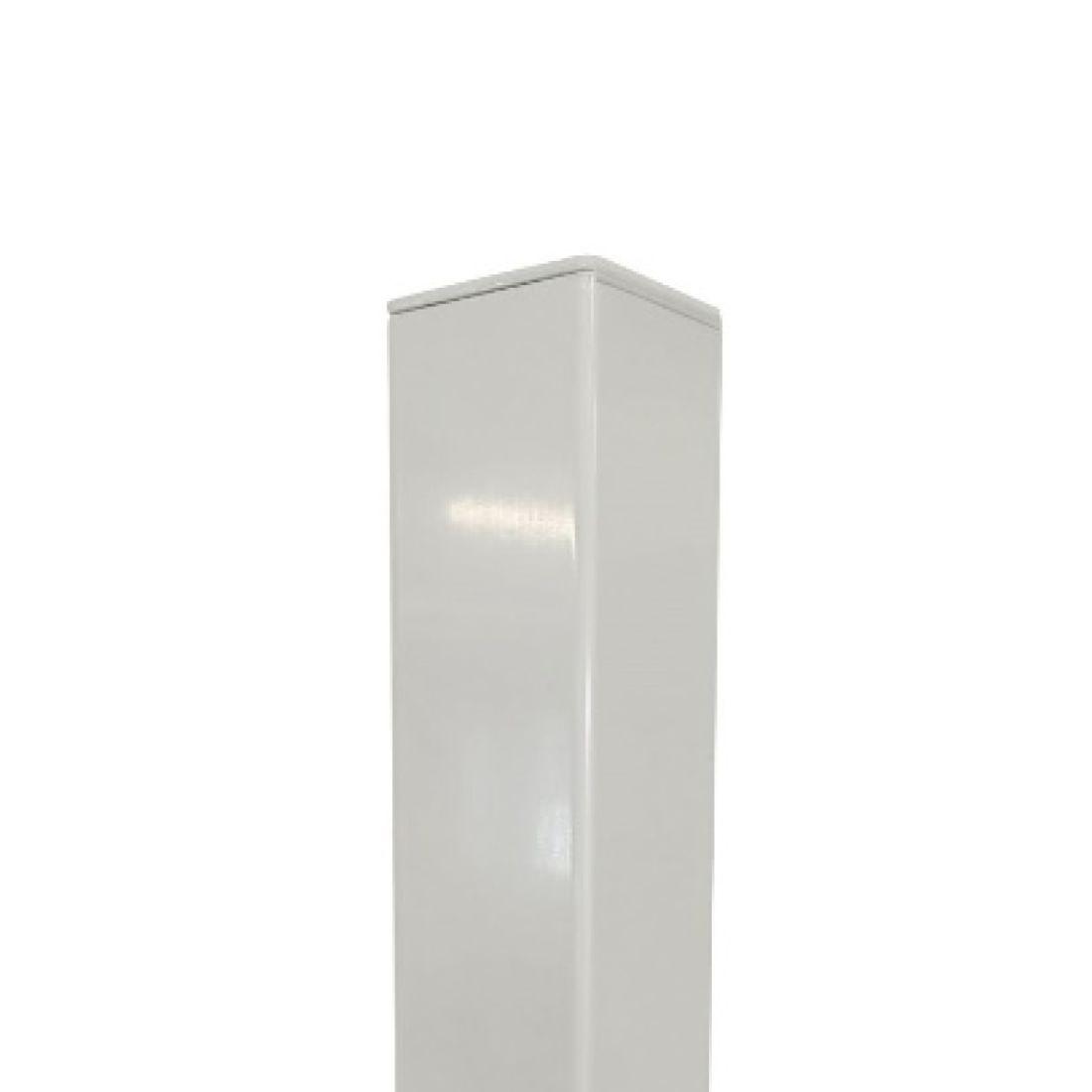 Standard Aluminium Post White 2400 x 50 x 50mm ELI-POST-WHT-245050