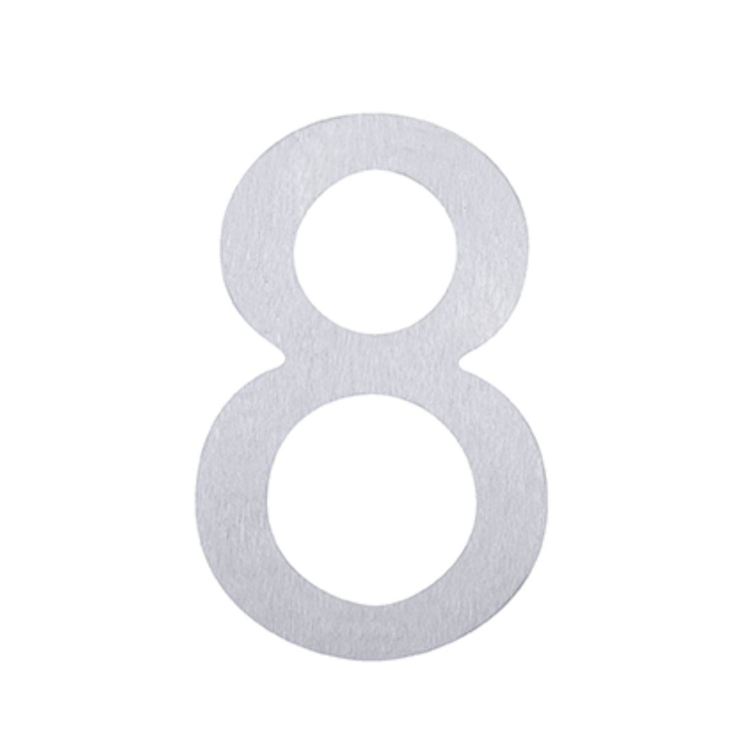 Adhesive Number 8 Stainless Steel 76mm 5367-8-SS