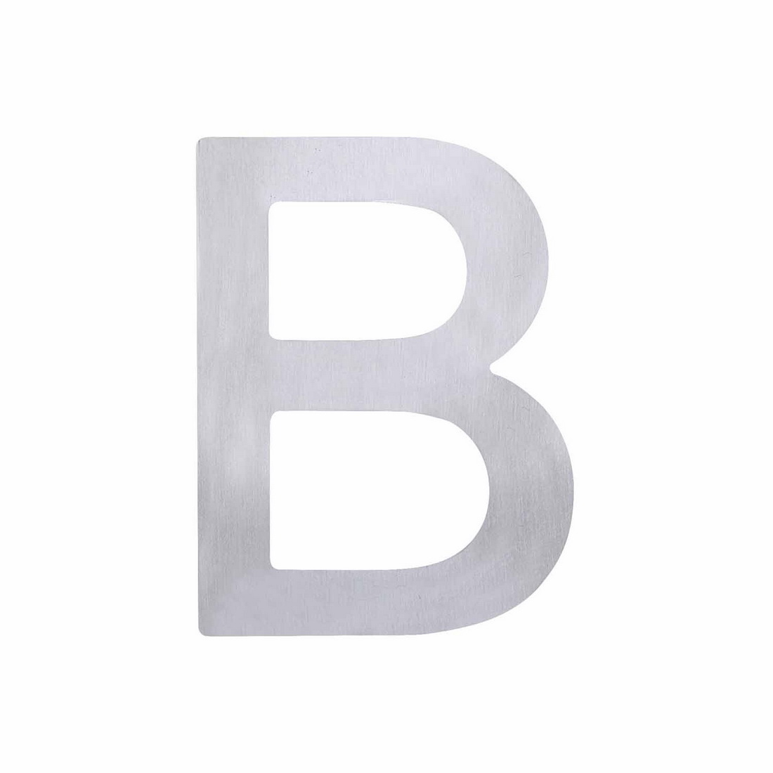 Elements Hardware Adhesive Letter B Stainless Steel 75mm 5371-B-SS