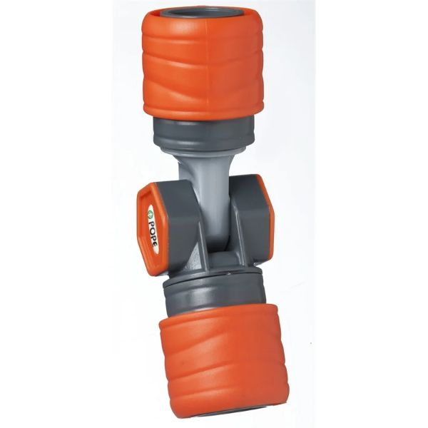 Hose Connector Double Ended 12mm Plastic