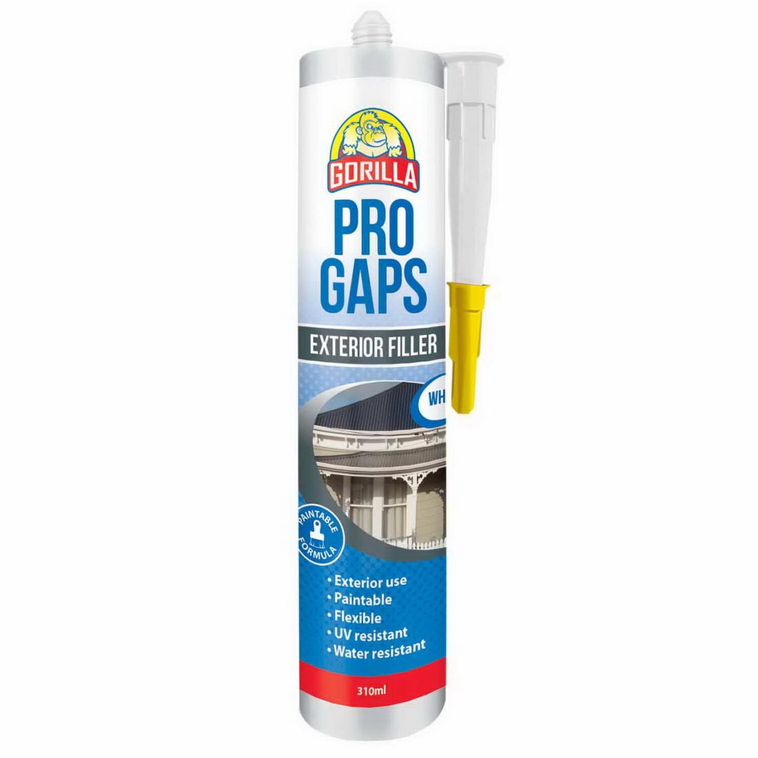 Pro Gaps 310ml Exterior Filler White