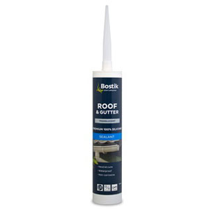 Roof & Gutter Silicone Translucent Sealant 300ml