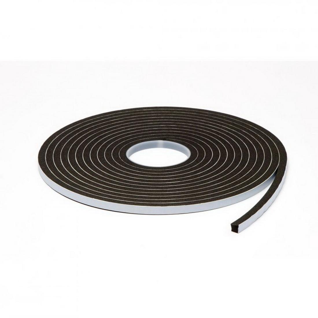 Sellotape Inseal Single-Sided Foam Tape 19mm Thick - 10mm Wide – 5 Metre roll Black 3109