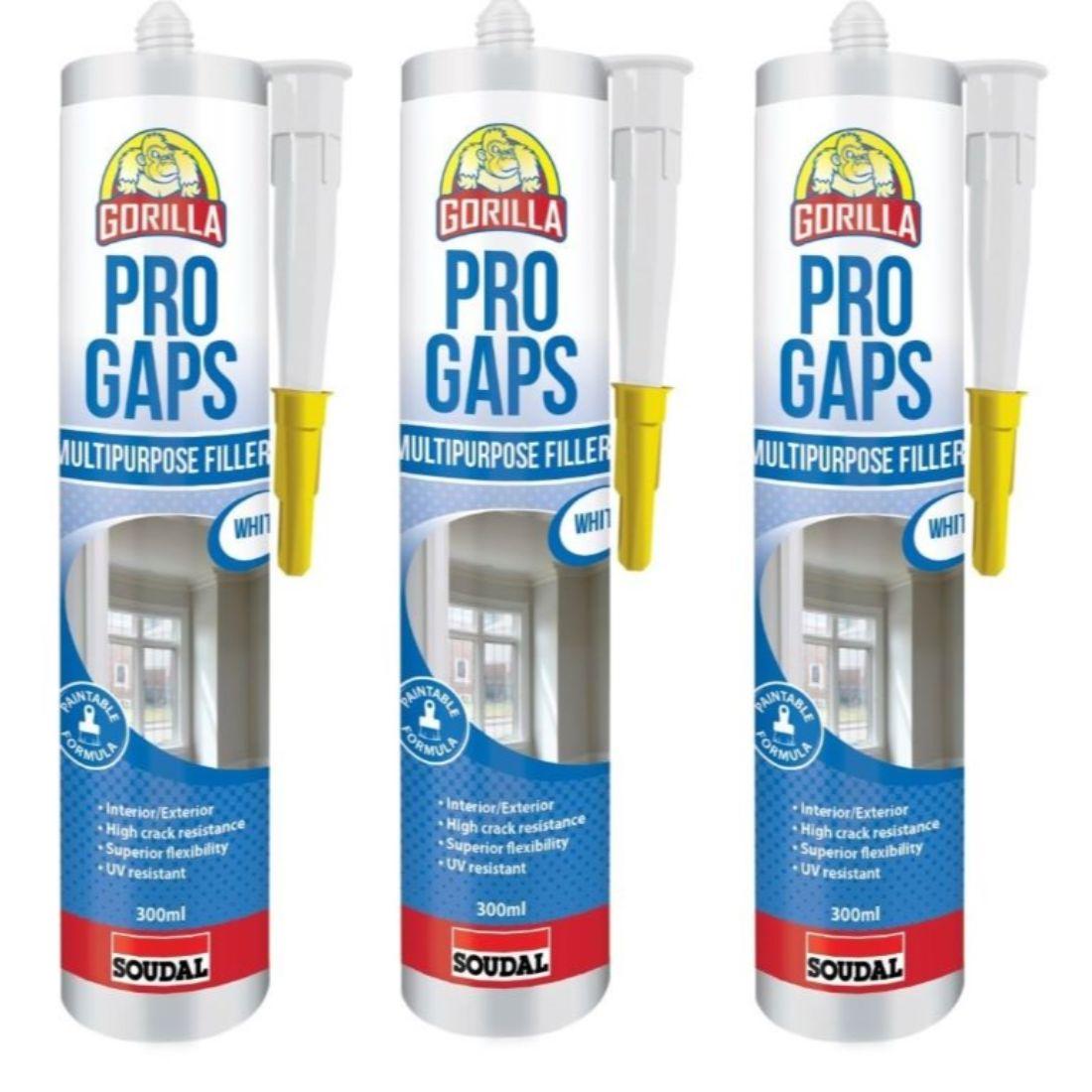 Pro Gaps Multipurpose Gap Filler 300ml 3Pack
