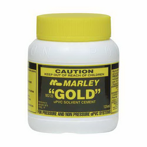 125mL Gold Cement Solvent Yellow