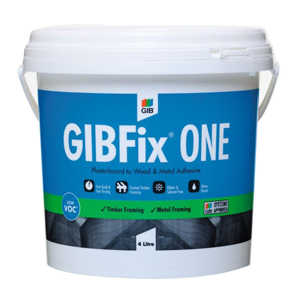 One Construction Adhesive 4L Pail Off-White