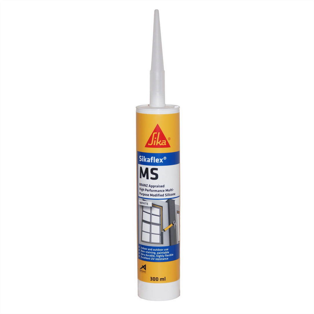 Sikaflex MS Crystal Clear 300ml modified Silicone sealant